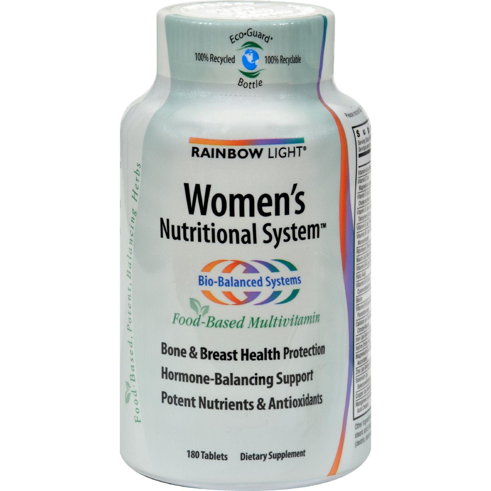 Rainbow Light Women S Nutritional System 180 Tablets