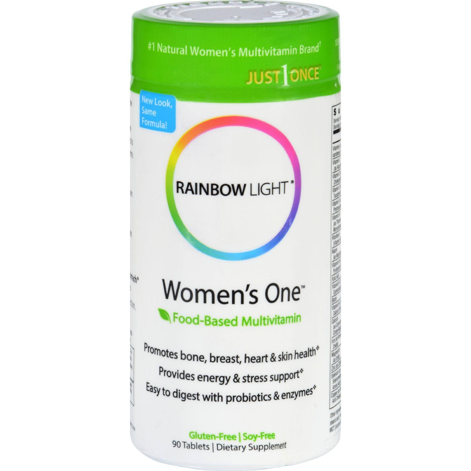 Rainbow Light Women S One Food Based Multivitamin 90